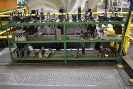 LOT/ RACK WITH CONTENTS CONSISTING OF TOOLING AND CLAMPING FIXTURES (LOCATED IN WINDSOR, ON)