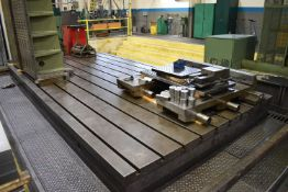 """196""""X98 T-SLOT EXTENSION TABLE, S/N: N/A (FIXTURES NOT INCLUDED) (LOCATED IN WINDSOR, ON) (CI)"""