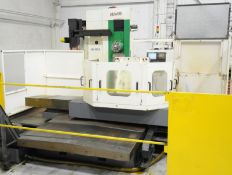 """FORTWORTH (2012) HB-800A, CNC TABLE TYPE HORIZONTAL BORING MILL WITH 39.37"""" X 39.37"""" T-SLOT ROTARY"""