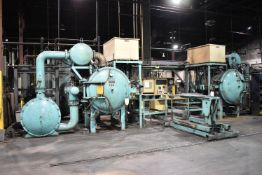 LOT/ COMPLETE VAC-AERO V9 & V10 1-BAR CAP VACUUM FURNACE SYSTEM CONSISTING OF LOT 58 UP TO AND