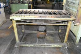 MFG UNKNOWN ROLLING CHARGE TABLE, S/N: N/A