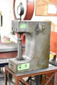 LOUIS SMALL H9-6 BRINELL HEAVY DUTY BENCH TYPE HARDNESS TESTER, S/N: 1094