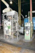 SURFACE COMBUSTION S-2N NATURAL GAS FIRED ENDOTHERMIC GAS GENERATOR WITH 2400 CFH RX CAPACITY, RKC