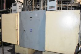 LOT/ AERO-VAC SQUARE-D HCW SHARED ELECTRICAL BREAKER PANEL, S/N: N/A
