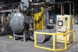 """ABAR HR 34 ELECTRIC VACUUM FURNACE WITH 2400 DEGREES F MAX TEMP, 24""""Wx24""""Hx36""""D APPROX SIZE, 1,000LB"""