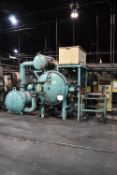 """VAC-AERO VAH 3448 MP ELECTRIC VACUUM FURNACE WITH 2,400 DEGREES F MAX TEMP, 24""""Wx24""""Hx48""""D APPROX"""