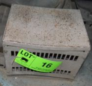 LOT/ TRANSFORMERS, S/N N/A [RIGGING FEE FOR LOT #16 - $50 USD PLUS APPLICABLE TAXES]