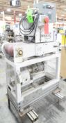 """MFG UNKNOWN 9.5"""" X 29"""" IN-LINE HORIZONTAL BELT PULLER WITH LION DIGITAL MICROPROCESSOR CONTROL,"""