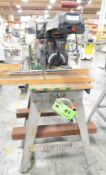"""CRAFTSMAN 10"""" RADIAL ARM SAW WITH STAND, 120-240V/1PH/60HZ, S/N N024512006 [RIGGING FEE FOR LOT #"""