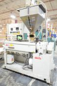 """HARREL CP667DS GEARTRUDER 2"""" SINGLE SCREW EXTRUDER WITH 48"""" AIR COOLED BARREL, EUROTHERM (4) ZONE"""
