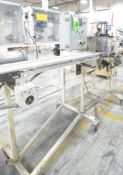"""MFG UNKNOWN PORTABLE IN-LINE CUTTER WITH DURANT DIGITAL MICROPROCESSOR CONTROL, 5"""" PNEUMATIC"""