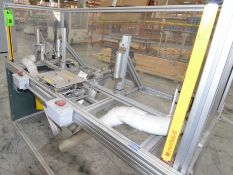 MFG UNKNOWN HOT PLATE ASSEMBLY STATION, S/N N/A (LAUREN D7398) [RIGGING FEE FOR LOT #36 - $25 USD