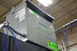 REX GREEN LINE 15KVA/600-208-120V/3PH/60HZ TRANSFORMER, S/N N/A (CI) [RIGGING FEES FOR LOT #