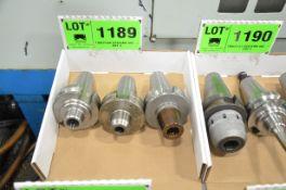 LOT/ (3) BT50 TOOL HOLDERS