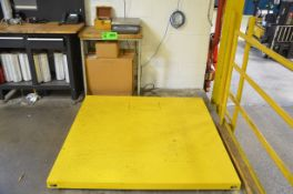 AVERY WEIGH-TRONIX 5,000 LBS CAPACITY FLOOR SCALE WITH BENCH SCALE DRO, S/N N/A