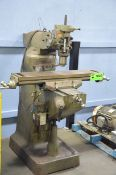 """FIRST LC-1 _ VS VERTICAL TURRET MILLING MACHINE BODY WITH 42""""X9"""" TABLE, 575V/3PH/60HZ, S/N: 41028960"""