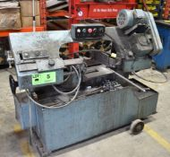MFG UNKNOWN HORIZONTAL BANDSAW, S/N: N/A [RIGGING FEE FOR LOT #5 - $50 CAD PLUS APPLICABLE TAXES]