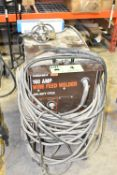POWER-MATE 160AMP MIG WELDER WITH CABLES AND GUN, S/N: N/A [RIGGING FEE FOR LOT #4 - $50 CAD PLUS