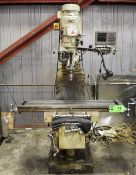 """FIRST VERTICAL MILLING MACHINE WITH SPEEDS TO 4,500RPM, 43.5""""X10"""" T-SLOT TABLE, HEIDENHAIN DRO, S/N:"""