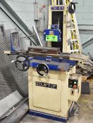 """EQUIPTOP ESG-618 HYDRAULIC SURFACE GRINDER WITH 18""""X6"""" ELECTROMAGNETIC CHUCK, 8"""" WHEEL, S/N:"""