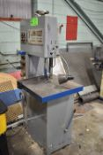 T-JAW400 VERTICAL BANDSAW WITH BLADE WELDER, S/N: 40921 [RIGGING FEE FOR LOT #7 - $75 CAD PLUS