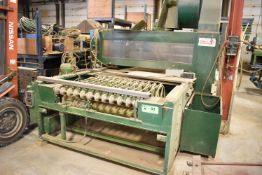 MAKOR WOOD FINISHING MACHINE, S/N: N/A [RIGGING FEE FOR LOT #53 - $1825 CDN PLUS APPLICABLE TAXES]