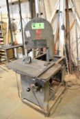 """ROLL-IN 48"""" VERTICAL BANDSAW, S/N: N/A [RIGGING FEE FOR LOT #7 - $100 CDN PLUS APPLICABLE TAXES]"""