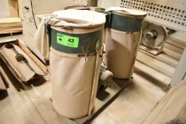 CRAFTEX 2-BAG DUST COLLECTOR, S/N: N/A