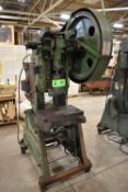 """BROWN BOGGS 14LW OBI PUNCH PRESS WITH 13.75""""X22"""" BED, 10.75""""X9.5"""" RAM, S/N: N/A [RIGGING FEE FOR LOT"""