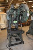 """BROWN BOGGS 15LW 40TON OBI PUNCH PRESS WITH 2.5"""" STROKE, 8""""-10.25"""" SHUT HEIGHT, 2.5"""" ADJUSTMENT,"""