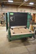 TIMESAVERS SPEED BELT SANDER, S/N: N/A [RIGGING FEE FOR LOT #59 - $550 CDN PLUS APPLICABLE TAXES]
