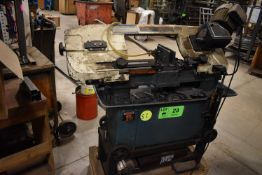 """JET 7""""X12"""" HORIZONTAL BANDSAW, S/N: N/A [RIGGING FEE FOR LOT #23 - $100 CDN PLUS APPLICABLE TAXES]"""