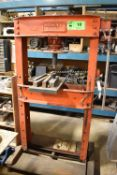 MANLY H-FRAME 50TON SHOP PRESS, S/N: N/A [RIGGING FEE FOR LOT #10 - $100 CDN PLUS APPLICABLE TAXES]