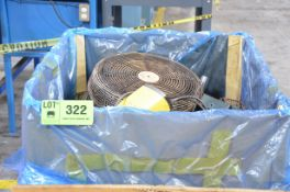 LOT/ SHOP FANS [RIGGING FEE FOR LOT #322 - $25 USD PLUS APPLICABLE TAXES]