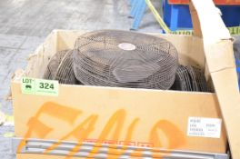 LOT/ SHOP FANS [RIGGING FEE FOR LOT #324 - $25 USD PLUS APPLICABLE TAXES]