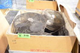 LOT/ SHOP FANS [RIGGING FEE FOR LOT #319 - $25 USD PLUS APPLICABLE TAXES]