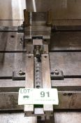 """GS 6"""" MACHINE VISE, S/N N/A [RIGGING FEE FOR LOT #91 - $20 USD PLUS APPLICABLE TAXES]"""