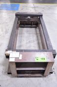 CUSTOM INJECTION MOLDING PRESS BARREL SHIPPING FRAME, S/N N/A [RIGGING FEE FOR LOT #189 - $20 USD