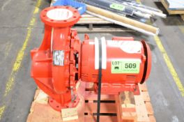 ARMSTRONG 4X4X13L CENTRIFUGAL PUMP WITH 450GPM CAPACITY, 95' HEAD, 20HP ELECTRIC MOTOR, S/N N/A [
