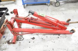 COOPER 2TON CAPACITY FOLDING ENGINE HOIST, S/N N/A [RIGGING FEE FOR LOT #402 - $25 USD PLUS