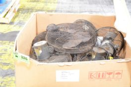 LOT/ SHOP FANS [RIGGING FEE FOR LOT #326 - $25 USD PLUS APPLICABLE TAXES]