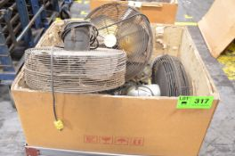 LOT/ SHOP FANS [RIGGING FEE FOR LOT #317 - $25 USD PLUS APPLICABLE TAXES]