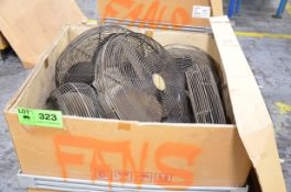 LOT/ SHOP FANS [RIGGING FEE FOR LOT #323 - $25 USD PLUS APPLICABLE TAXES]
