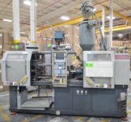 VAN DORN 35 ET SYSTEM CNC HORIZONTAL INJECTION MOLDING MACHINE WITH MANNESMANN DEMAG NC4 CNC
