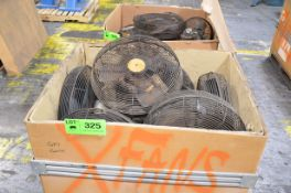 LOT/ SHOP FANS [RIGGING FEE FOR LOT #325 - $25 USD PLUS APPLICABLE TAXES]