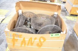 LOT/ SHOP FANS [RIGGING FEE FOR LOT #328 - $25 USD PLUS APPLICABLE TAXES]