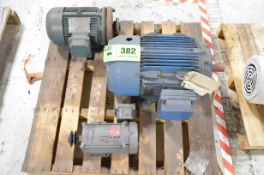 LOT/ (3) ELECTRIC MOTORS [RIGGING FEE FOR LOT #382 - $25 USD PLUS APPLICABLE TAXES]