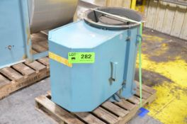 BALDOR AXIAL FAN WITH ELECTRIC MOTOR, S/N N/A [RIGGING FEE FOR LOT #282 - $25 USD PLUS APPLICABLE