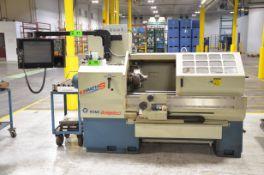 ROMI BRIDGEPORT EZ PATH S CNC LATHE WITH RETROFIT MACH MOTION H15-10-01 WINDOWS PC BASED CNC