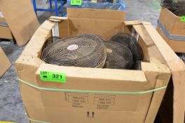 LOT/ SHOP FANS [RIGGING FEE FOR LOT #321 - $25 USD PLUS APPLICABLE TAXES]